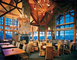 The Eagle's Eye is Canada's highest elevation restaurant. (photo: KHMR)
