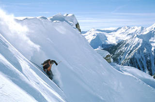 The top half of Kicking Horse is made up of huge bowls filled with steep lines that will challenge any skier. (photo: KHMR)