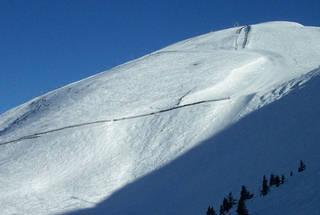 Terrain off the Summit Platter