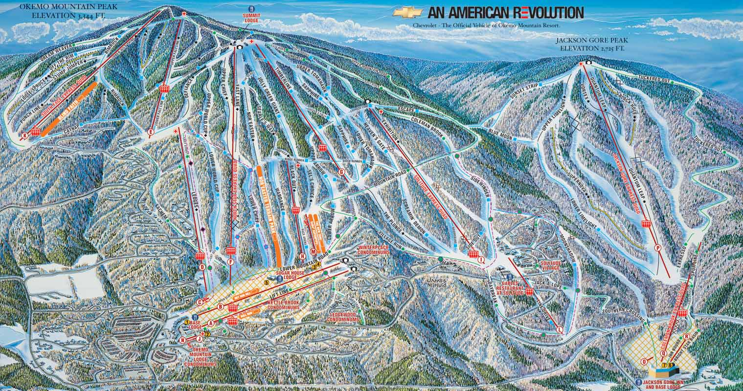 jackson gore expands okemo's offerings | first tracks!! online ski