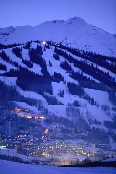 The first phase of the $1B base village redevelopment at Colorado's Snowmass ski resort, near Aspen, is ready to open this winter. (photo: ASC)