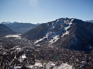 Aspen Mountain and the town of Aspen, Colo. (photo: Jeremy Swanson)