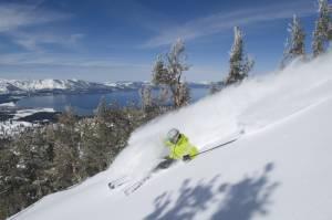 Ski resorts surrounding Lake Tahoe enjoyed their second-best season in 2010-11. (photo: Heavenly Resort)