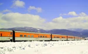 The Denver to Winter Park ski train