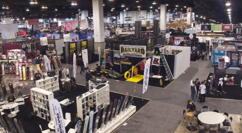 Exhibition Booth Sia : Snow show sells out first tracks online ski magazine