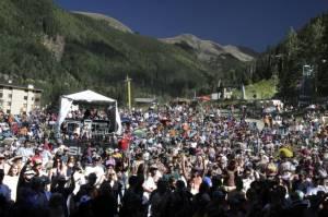 The Taos Mountain Music Festival (photo: Anne-Sophie Lenoir)