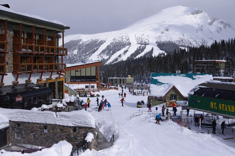 Image result for Sunshine Village Ski Resort