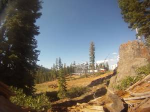 Northstar-at-Tahoe's new Zephyr Lodge under construction. (photo: Northstar-at-Tahoe)