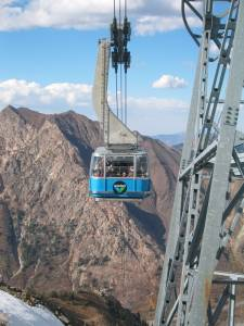 Ride Snowbird's Aerial Tram this fall for a good cause. (photo: FTO/Marc Guido)