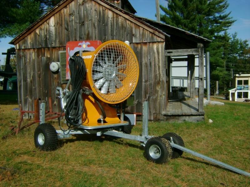 Maine S Shawnee Peak Adds New Snowmaking Ski Equipment