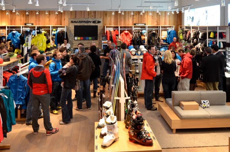 économiser b361f c6aab Salomon to Open Flagship Brand Store in Utah | First Tracks ...