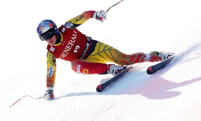 Canadian ski racer Erik Guay, of Mont-Tremblant, Quebec (file photo: Pentaphoto/Alpine Canada)
