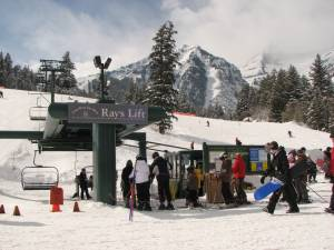 Sundance Resort's new chairlift being installed this summer will take the pressure off its existing base-to-midmountain Ray's Lift. (FTO file photo: Marc Guido)
