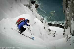 (skier: Chris Davenport; photo: Noah Howell/powderwhore.com)