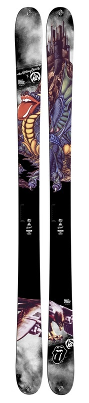 K2 Reveals Remaining Skis Honoring The Rolling Stones