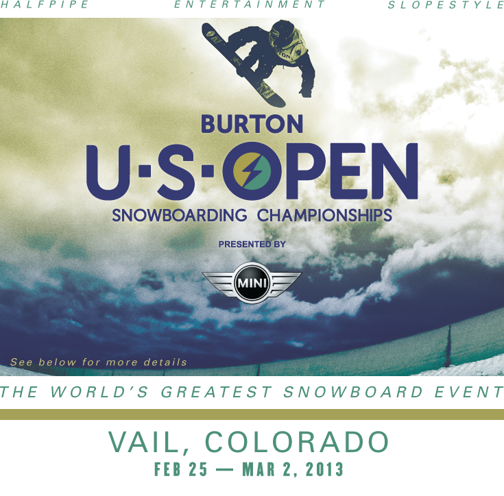 Best Places In The Us To Snowboard: Burton Announces U.S. Open Snowboarding Schedule