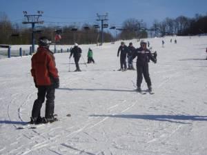 Learning to ski at Ski Liberty in Pennsylvania (photo: Ski Liberty)