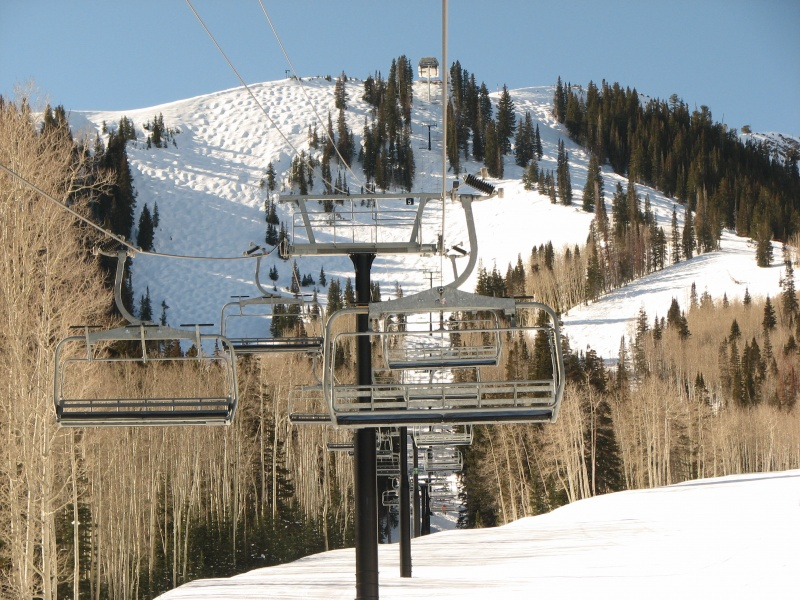 The land beneath Park City Mountain Resort's McConkey's lift is actually owed by a division of Talisker Corp. and leased to Powdr Corp. (file photo: FTO/Marc Guido)