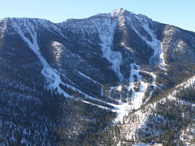 Las Vegas Ski & Snowboard Resort, on Mt. Charleston near Las Vegas, Nev. (file photo: LVSSR)