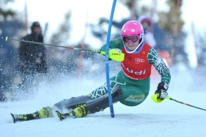 Elli Terwiel in action at the Canadian National Championships (photo: Alpine Canada)