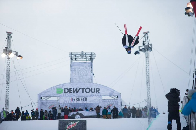 Justin Dorey at Breckenridge in 2013 (photo: Dew Tour)