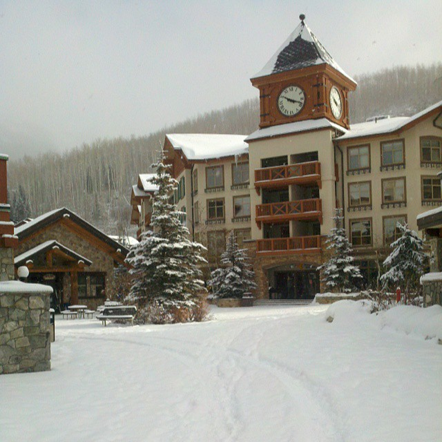 Solitude Village on Tuesday (photo: Solitude Mountain Resort)