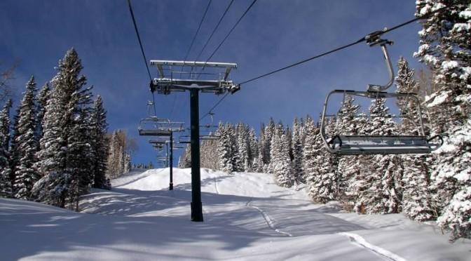 Fresh snowfall continued to coat Colorado ski resorts on Wednesday. (photo: CSCUSA)