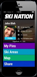 Ski Nation on iPhone. (image: Ski Nation)