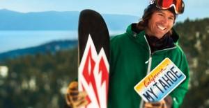 Pro snowboarder Jeremy Jones (photo: Tahoe Fund)