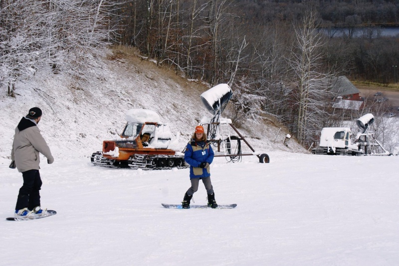 Wild Mountain, in Taylors Falls, MN, was once again the first ski area in the Midwest to open for the season when it did so on Saturday. (photo: Wild Mountain)
