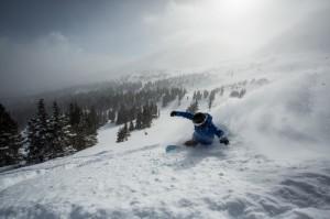 Breckenridge opened Peak 6 today on a foot of new snow. (photo: Breckenridge Ski Resort/Daniel Dunn)
