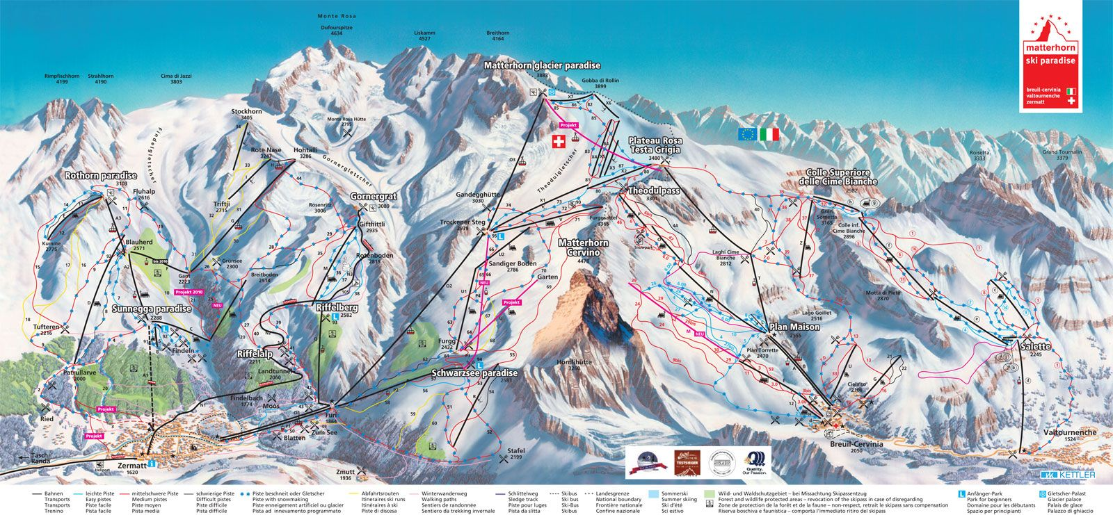 zermatt, switzerland: a ski resort guide | first tracks!! online ski