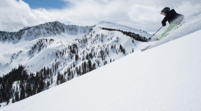(file photo: Solitude Mountain Resort; Skier: Liz Pederson)