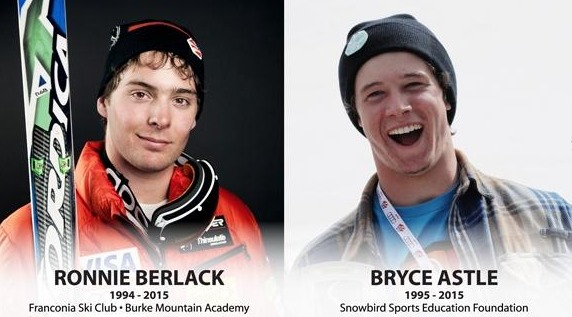 U.S. Ski Team development racers Ronnie Berlack and Bryce Astle were killed last January in an avalanche in Soelden, Austria. (image: USST)