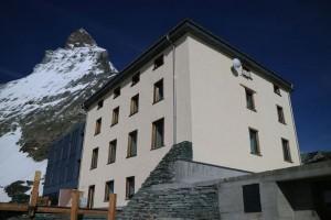 Zermatt's new Hörnli Hut/Base Camp Matterhorn (photo: Kurt Laubert)