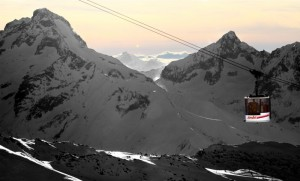 The Jandri Express (photo: Office de Tourisme Les 2 Alpes/Bruno Longo)