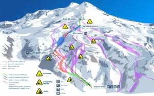The ski area at Mt. Elbrus
