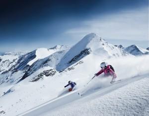Skiing on the Kitzsteinhorn Glacier (photo: Gletscherbahnen Kaprun AG)