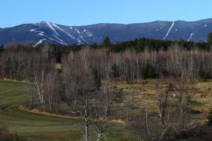There was some white visible at Sugarbush yesterday, but not enough. (photo: Sugarbush Resort)