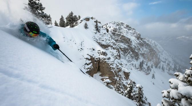 (photo: Reuben Krabbe; skier: James McSkimming; location: Solitude Mountain Resort)