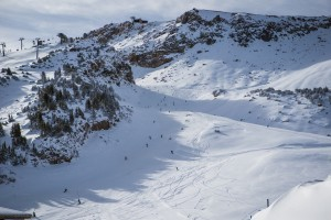 Today's opening at Mammoth Mountain (photo: Peter Morning/MMSA)