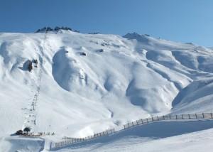 Treble Cone's Saddle Basin (photo: Treble Cone Ski Area)
