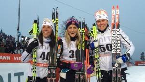 Kalla, Johaug, Ingemarsdotter (photo: FIS)