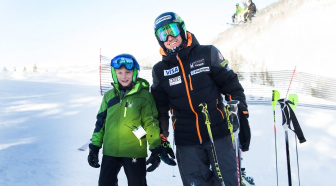 Behind the Gold: Winning a Trip to Ski With Ted Ligety