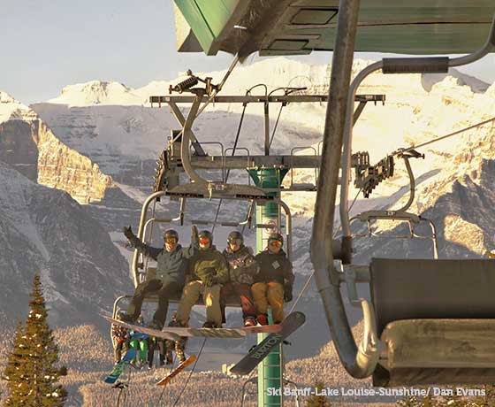 On Friday, Lake Louise joined nearby Mt. Norquay opening in western Canada. (photo: Dan Evans)