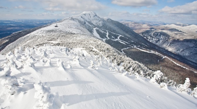 Above the lifts on The Nose of Mt. Mansfield, Vermont's highest peak. (photo: Stowe Mountain Resort)