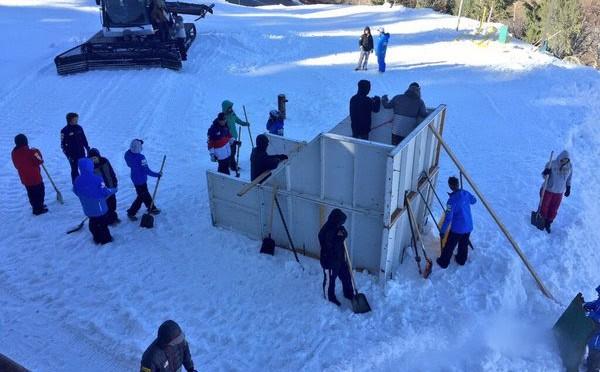 Aerial Site Build Begins at Utah Olympic Park