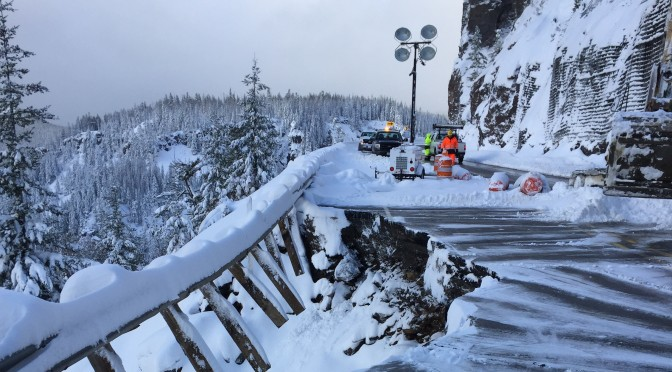 Road Repairs to Allow White Pass to Open