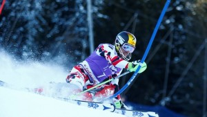Austria's Marcel Hirscher wins again on Wednesday in Santa Caterina, Italy. (photo: FIS/Agence Zoom)