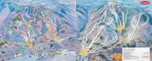 Trail map: Tremblant